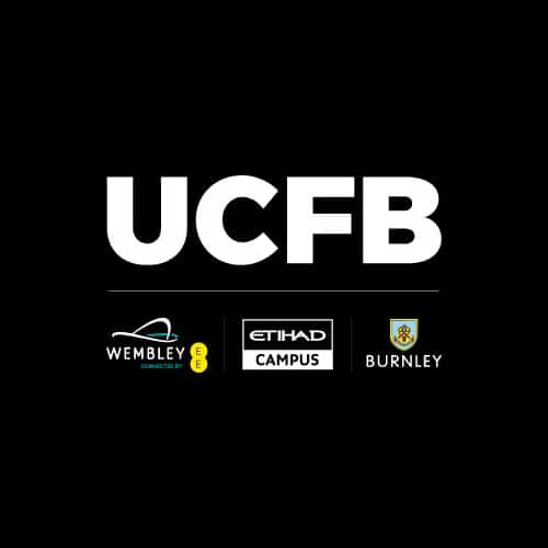 University College of Football Business (UCFB) Wembley logo