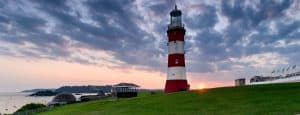 Sunset Over Plymouth Hoe