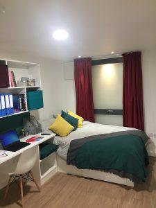 vincent place show flat bedroom