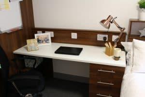 student-study-desk-area