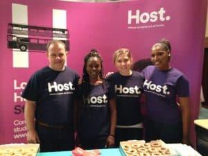 host accommodation staff
