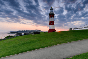 plymouth-Sunset-Over-Plymouth-Hoe