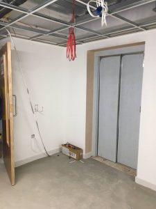 lift in corridoor