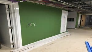 wall up in common room