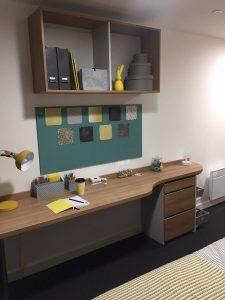 the elements sheffield show flat desk