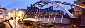 Sheffield-Tram-Bridge-And-Line