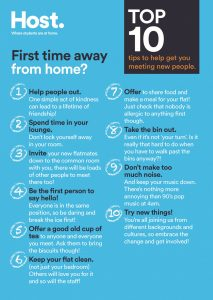 10 top tips to help you meet new people at uni - Host