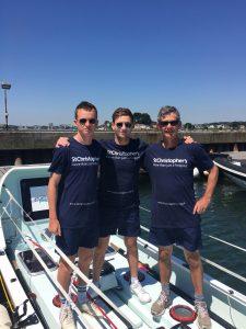 Joe, Hugo and James Trafford