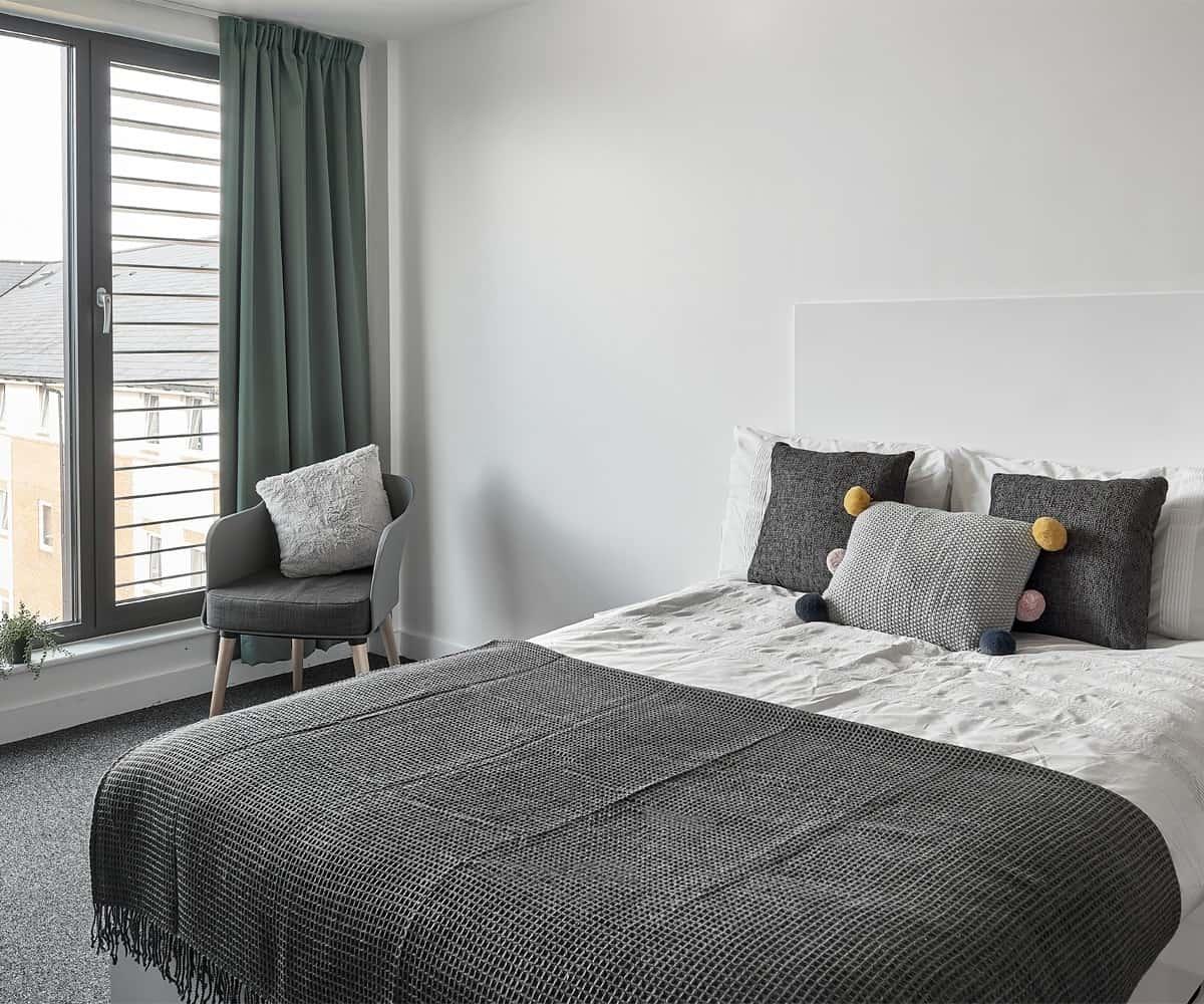 Host Student Apartments Premium Studio student room in Birmingham