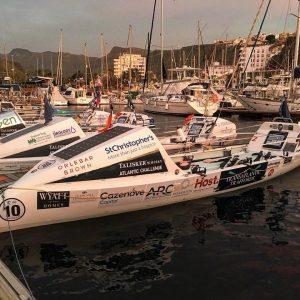 transatlantic traffords boat in the canaries