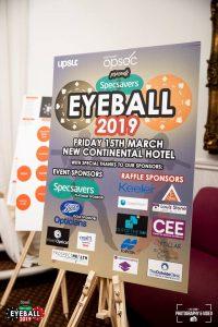 Eyeball 2019 sponsors board