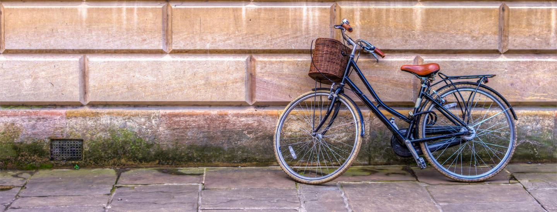 bike-resting-against-wall