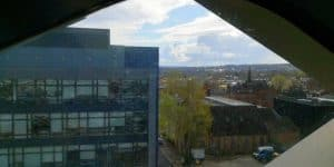 view from library sheffield