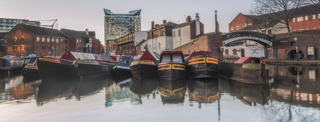 Gas Street Basin - Birmingham Canals