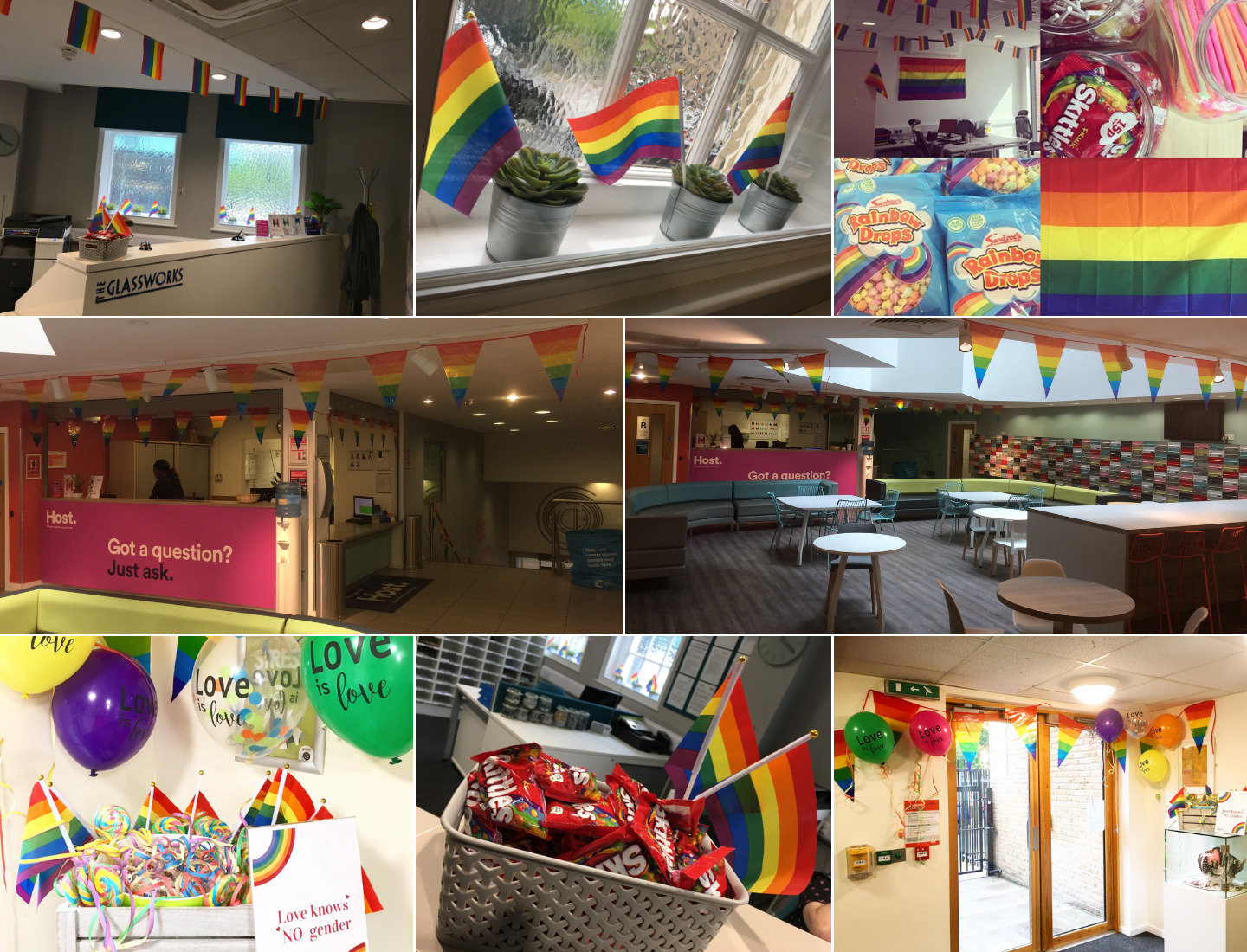 As Pride month comes to an end, we take a look at what some of our sites have been up to through out June.