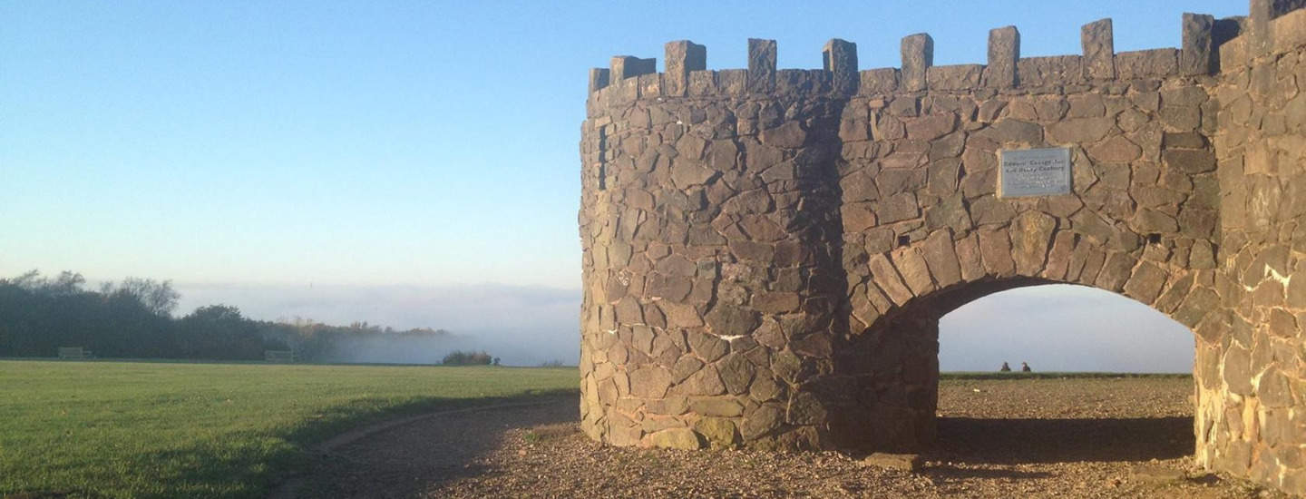 Take in the Amazing views from the Lickey Hills.