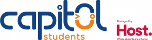 capitol students managed by host logo