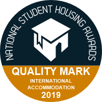 Quality mark - International Accomodation 2019