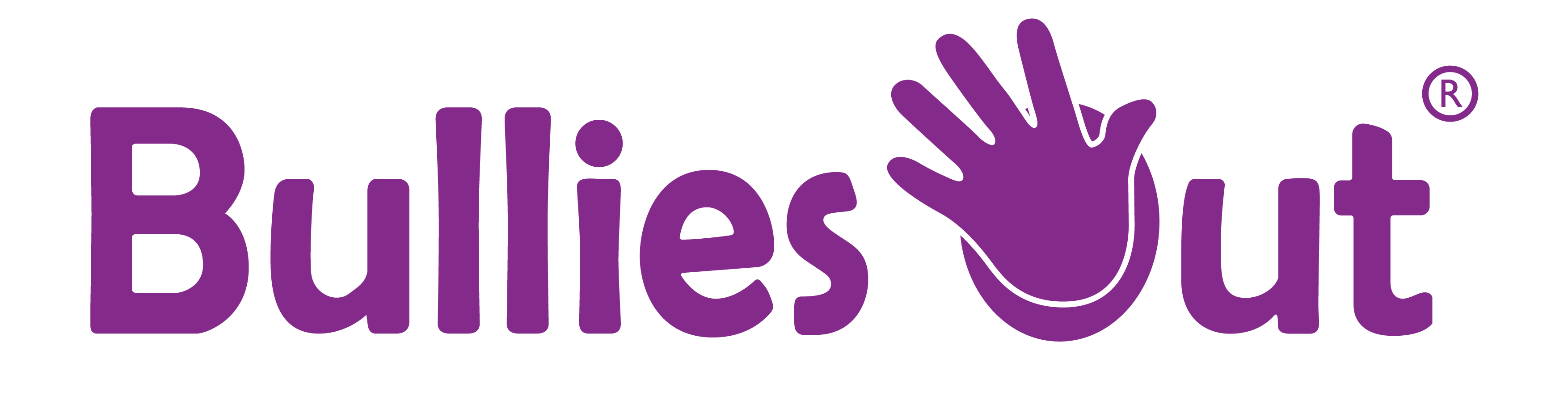 Bullies Out Purple logo
