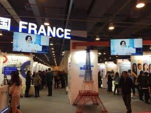France Pavillion China Education Expo CEE