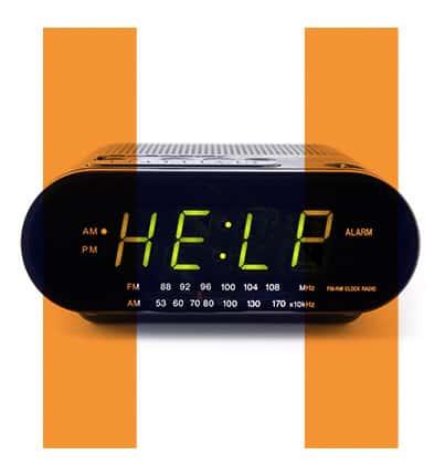 Host H pause Alarm clock