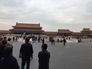 inside palace in Beijing