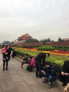 outside palace in Beijing