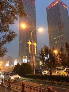 skyscraper in Beijing