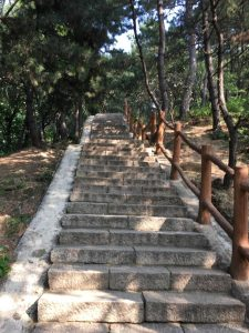 steps to wall in Beijing