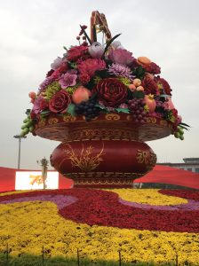 tianamen square statue in Beijing