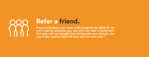 Refer a Friend - check londonderry house terms and conditions
