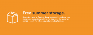 free summer storage central quay