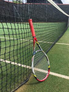 tennis-racket - Helping me during the stress awareness month