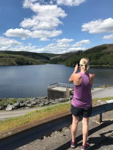 welsh reservoir - Helping me during the stress awareness month