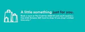 Amazon voucher - The Croft