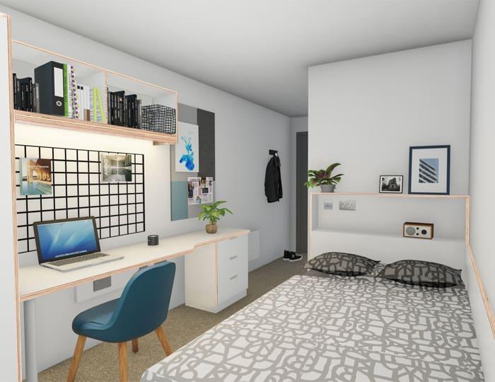 Host 27 Magdalen Street Platinum Plus En-suite student room in Colchester