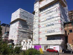 new year new student accommodation - southampton crossings building