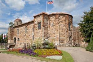 colchester castle Norman