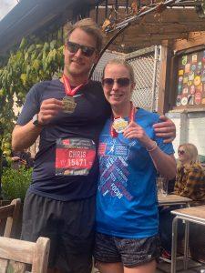cardiff half medal 2019