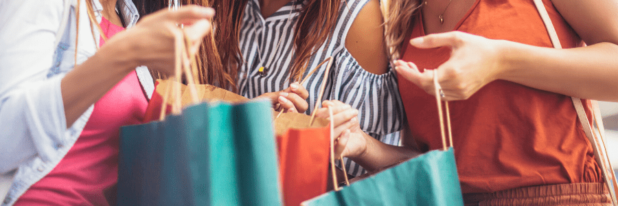 The 5 best places to go Shopping.