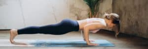 woman-doing-press-up-whilst-self-isolating