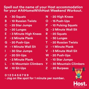 Host-Alphabet-Weekend-Workout