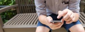 Man-Using-Wellbeing-App-On-Mobile-Smart-Phone