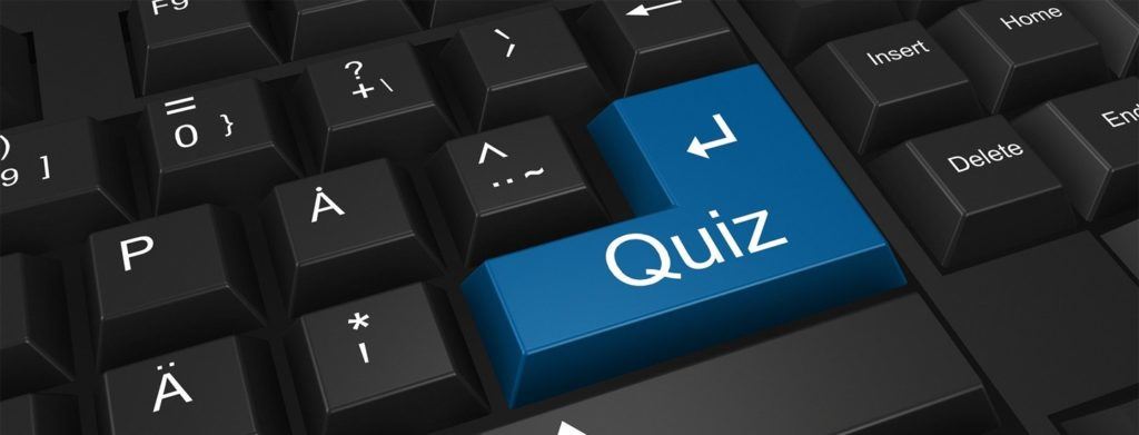 quiz keyboard