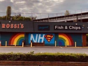 CreativeThursdays NHS Shop Front
