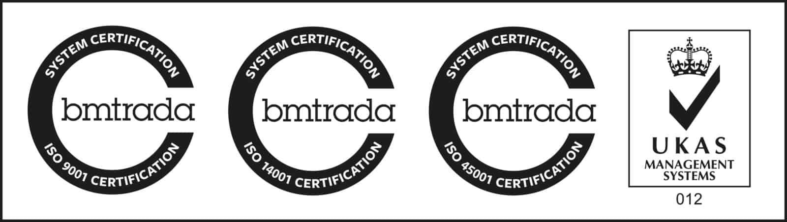 ISO 9001 & ISO 45001 & ISO 14001