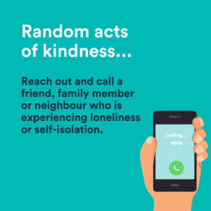 random acts of kindness call