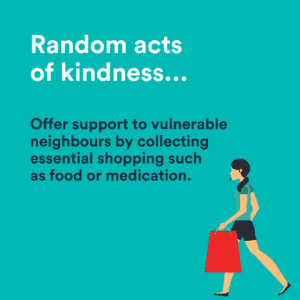 offer support to a vulnerable neighbour
