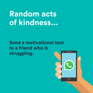 random acts of kindness text