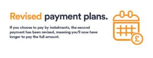 host booking commitments - revised payment plans